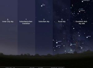 How Light Pollution Affects The Night Sky In Various Enviroments